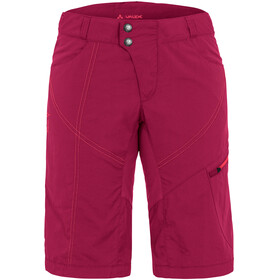 VAUDE Tamaro Shorts Women crimson red